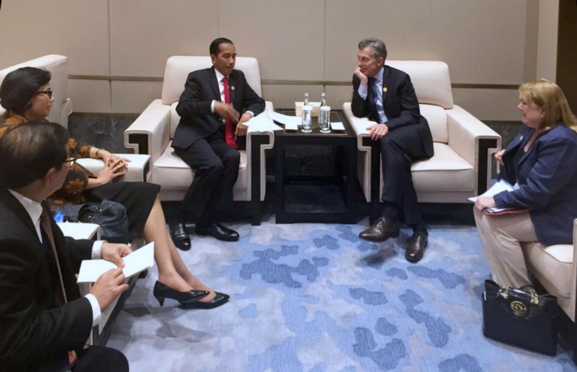 Indonesia-Argentina Jajaki Kerja Sama Ekonomi dan Olah Raga