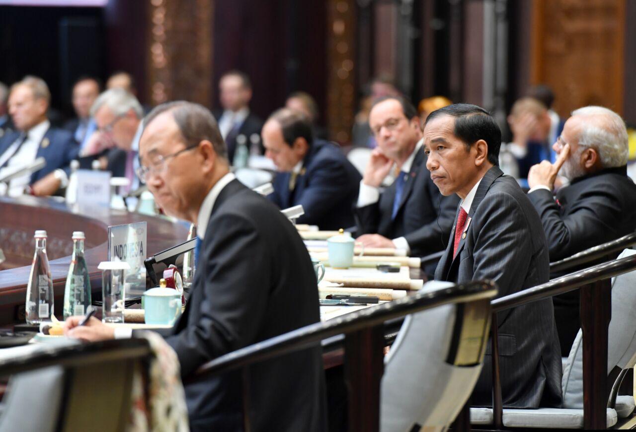 Presiden Jokowi di KTT G20, Dorong Perbaikan Ekonomi Dunia