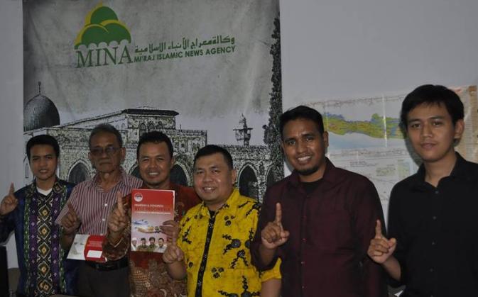 IIBF Kunjungi Kantor Berita Islam MINA