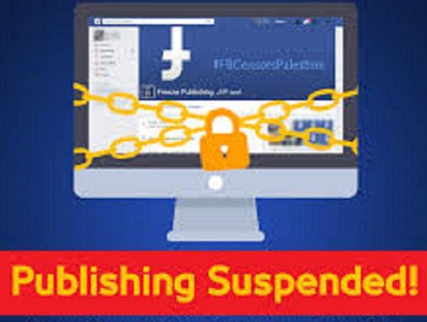 Facebook Blokir Tujuh Akun Wartawan Palestina