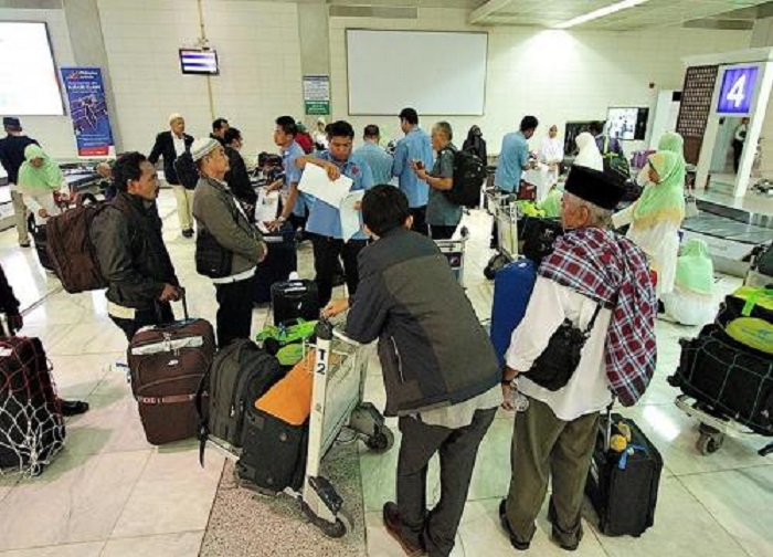 Diperkirakan 500-700 WNI Selesai Haji Gunakan Paspor Filipina
