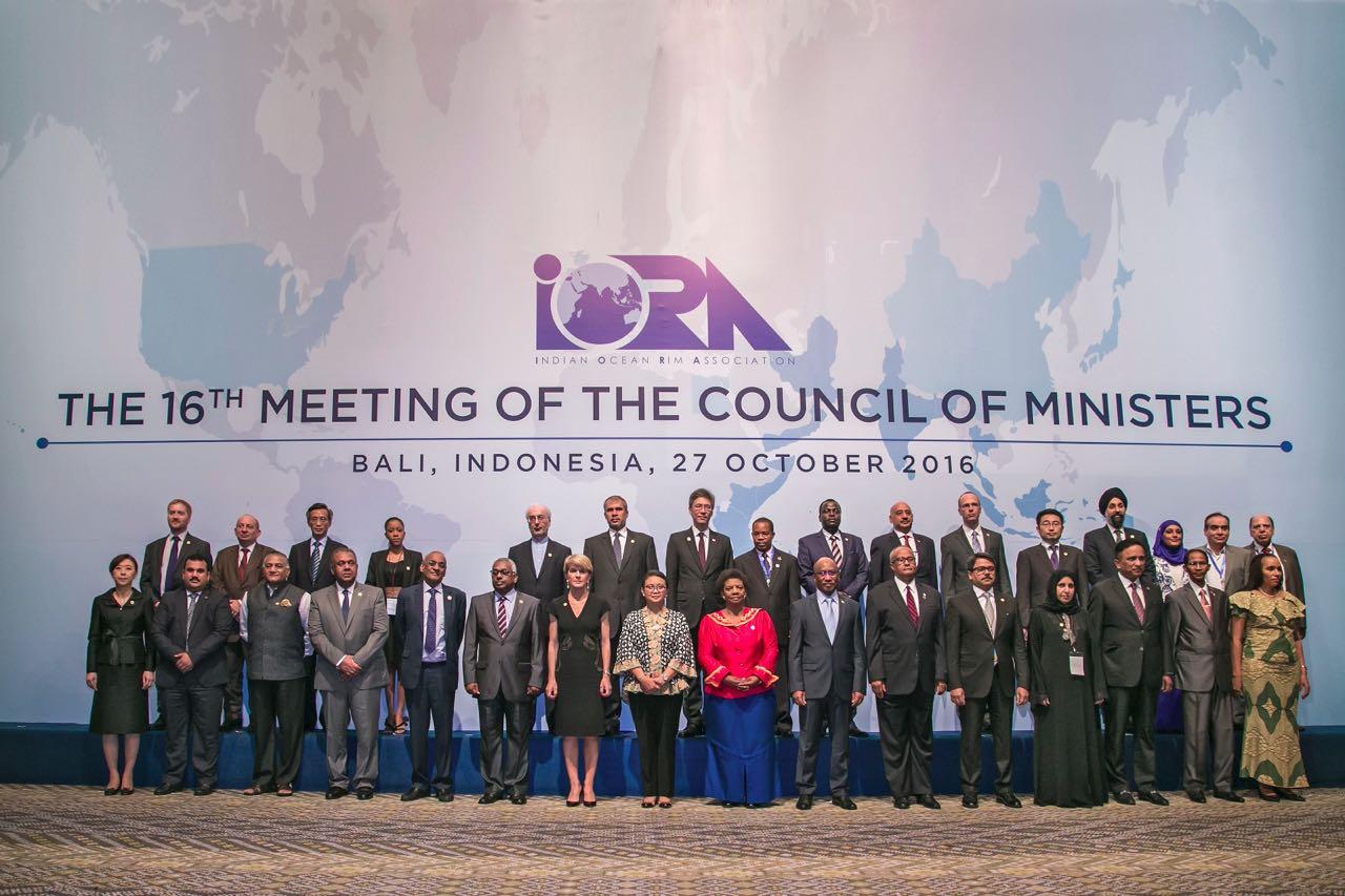 Menlu RI Buka Sidang Pertemuan Tingkat Menteri IORA