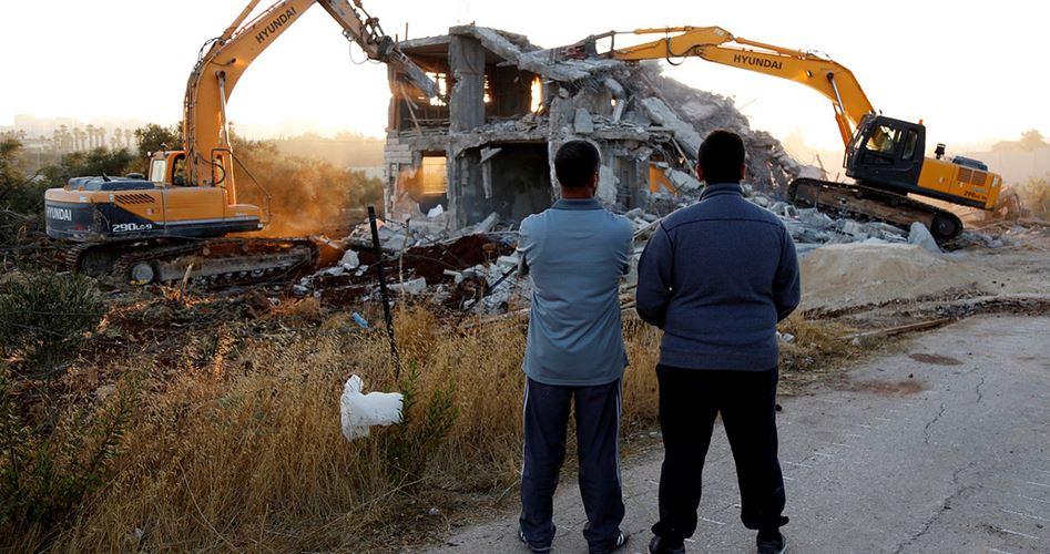 Laporan: Tahun 2016 Israel Gusur 780 Rumah Palestina