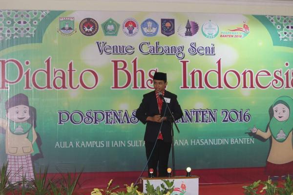 Santri Singkawang Ikuti Pospenas VII Di Banten