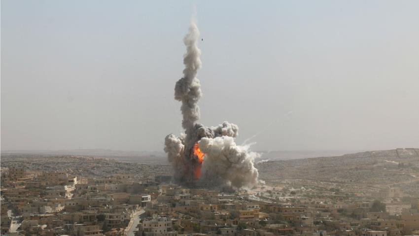 Rusia Kembali Bom Aleppo