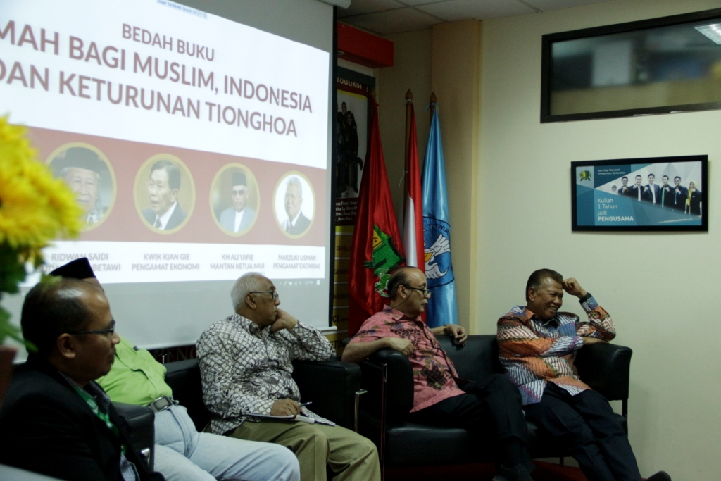 """Dompet Dhuafa Bedah Buku """"Rumah Bagi Muslim Indonesia Keturunan Tionghoa"""""""