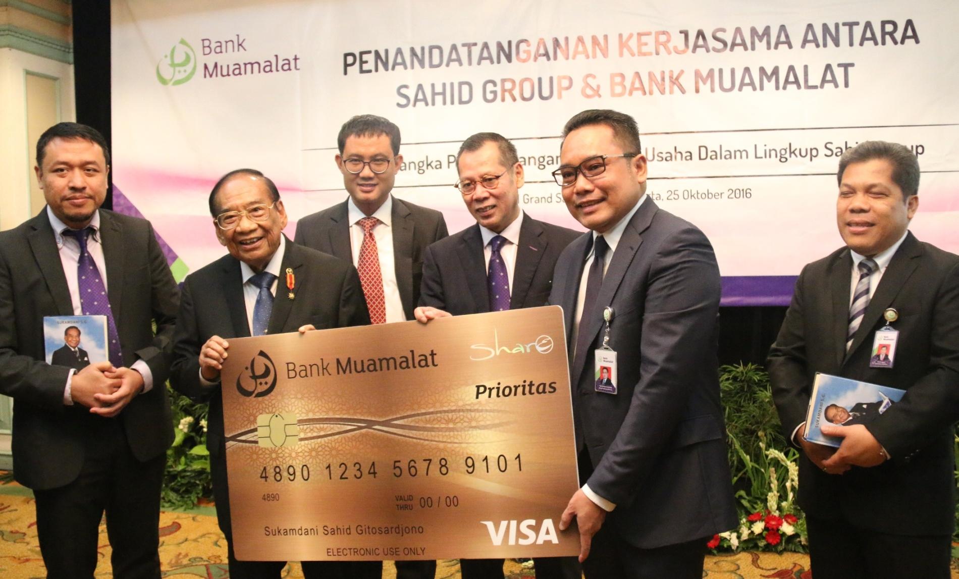 Perluas Produk Syariah, Bank Muamalat Gandeng Sahid Group
