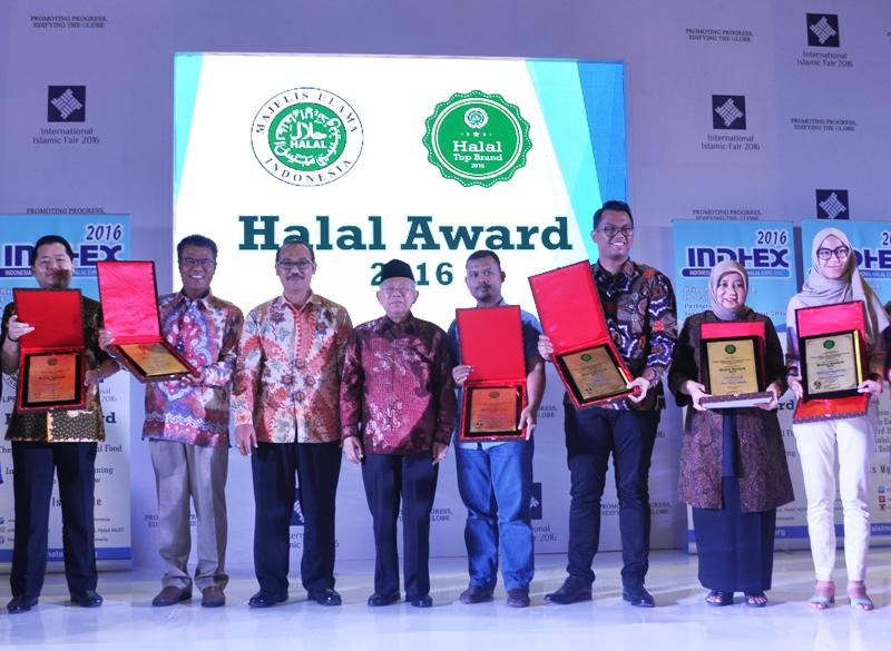 LPPOM MUI Gelar Penganugerahan Halal Award 2016