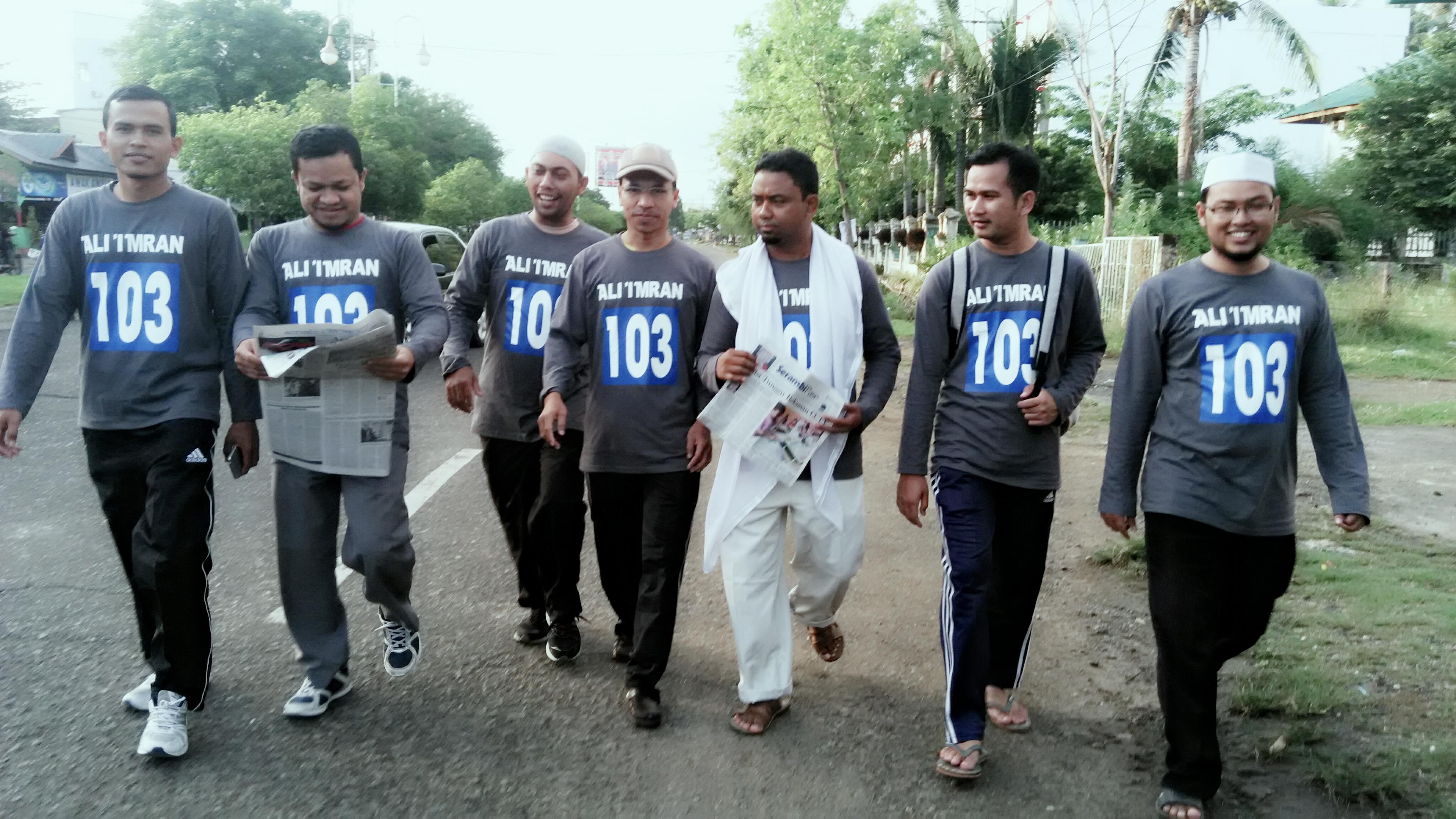 Gerak Jalan Sehat Bertema Ali-Imran 103 Digelar di Aceh