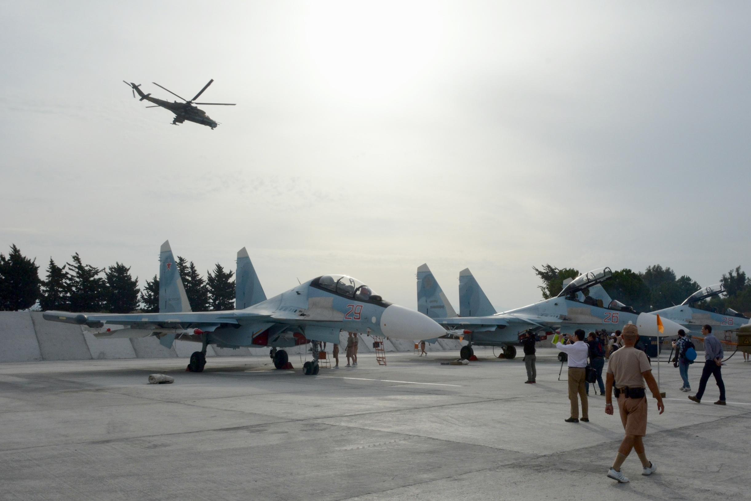 Setahun Serangan Udara Rusia di Suriah