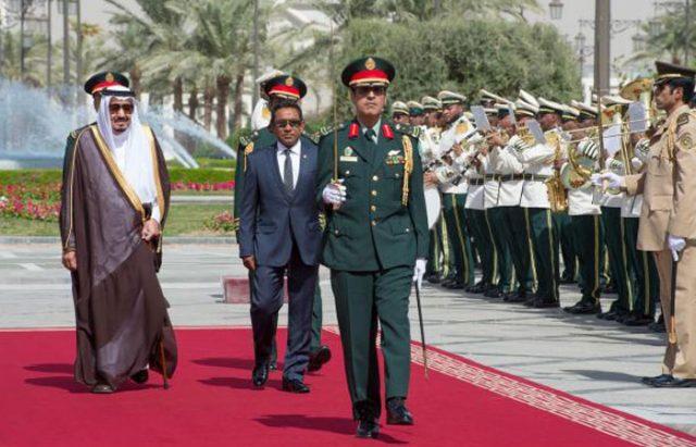 Raja Salman dan Presiden Maladewa Abdul Gayoom Bahas Penguatan Kerja Sama Bilateral