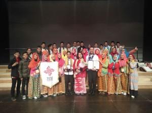 PSM UIN Jakarta Raih Bronze Prize di Busan Choral Festival Korea Selatan