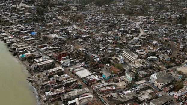 AS Siaga, Korban Tewas di Haiti Akibat Badai Matthew Melonjak 283 Orang