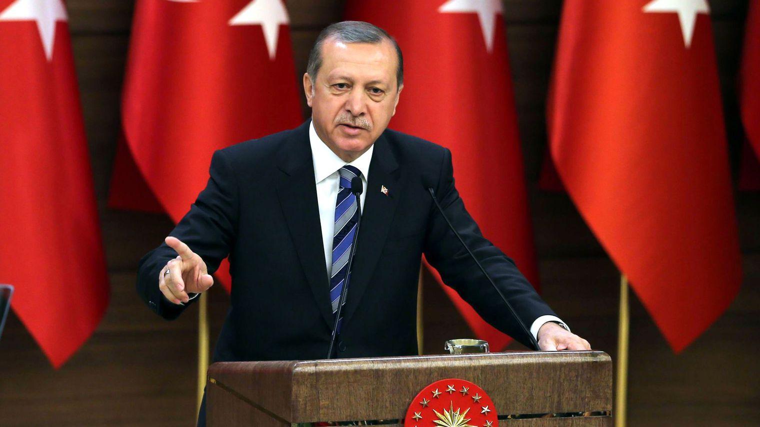 Erdogan Bandingkan Tindakan Israel dengan Nazi