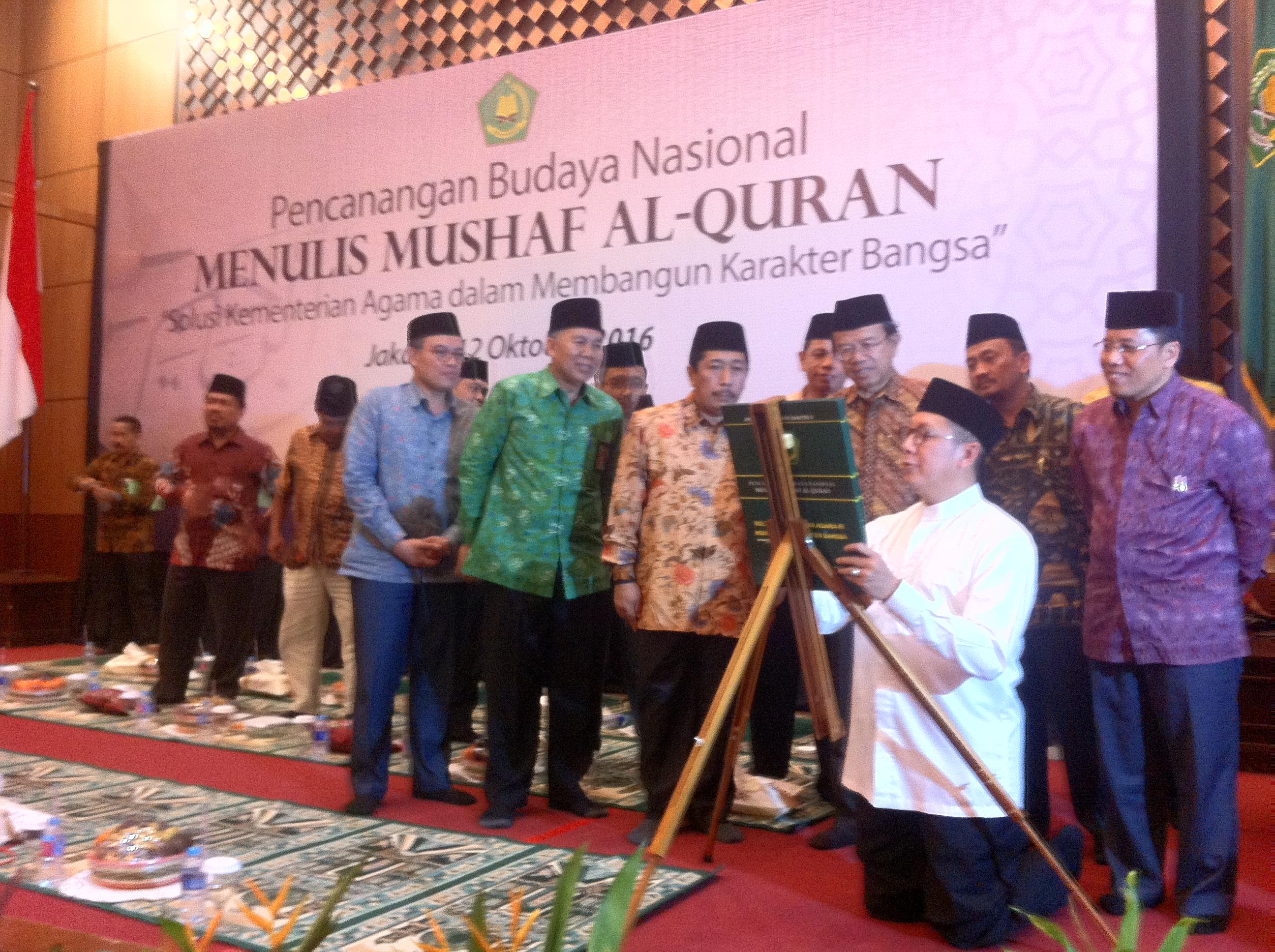 Presiden Jokowi Akan Terima Mushaf Santri