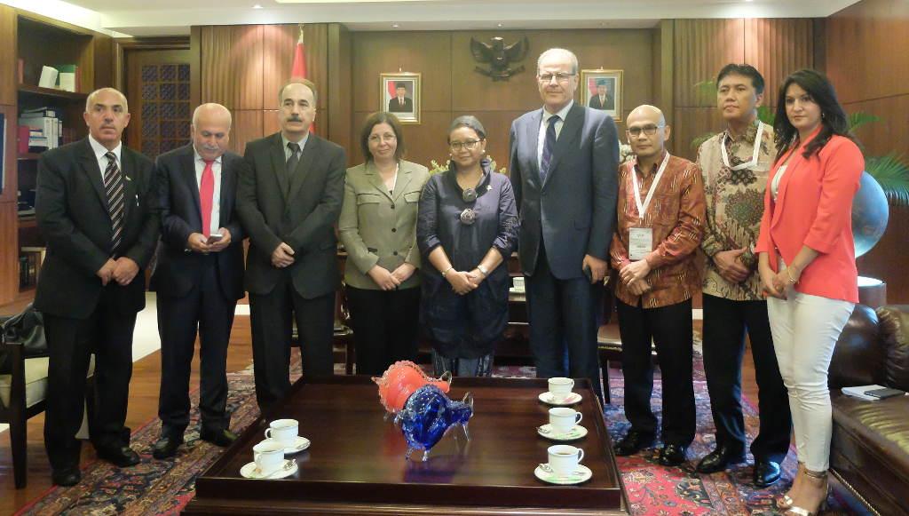 Konsul Kehormatan RI untuk Palestina Kunjungi Indonesia