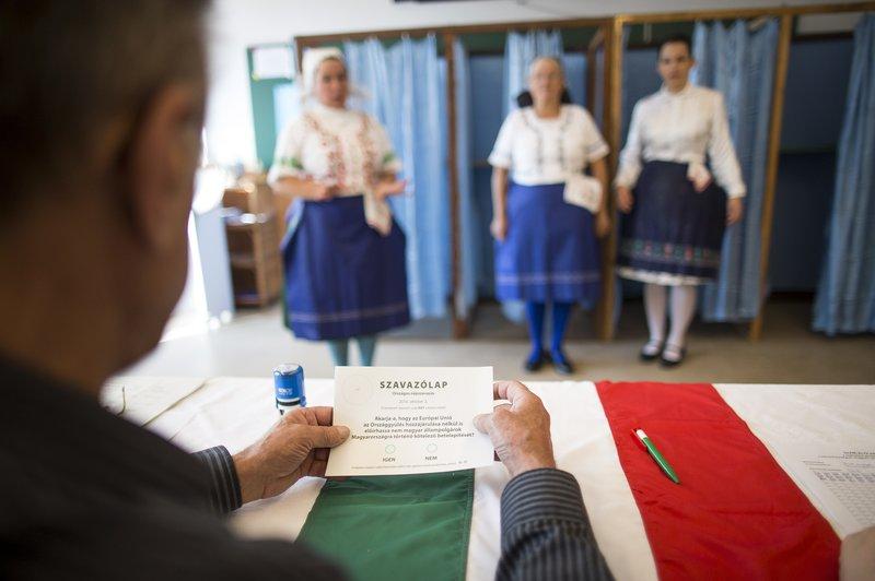 Referendum di Hungaria Dianggap Tidak Sah Karena Pemilih rendah