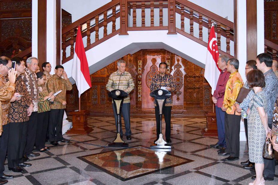 Memasuki 50 Tahun Hubungan Diplomatik, Indonesia-Singapura Sepakat Tingkatkan Kerja Sama