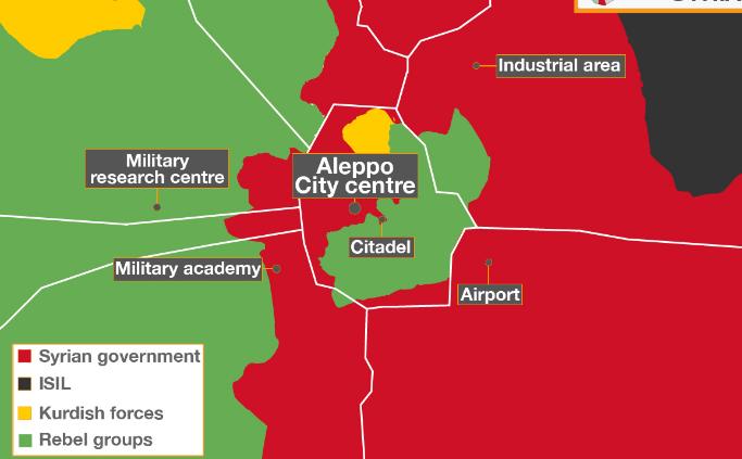 Dua Hari Serangan Udara di Aleppo, Lebih 80 Orang Tewas