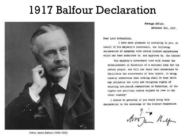 Aktivis Palestina Tuntut Inggris Minta Maaf atas Deklarasi Balfour