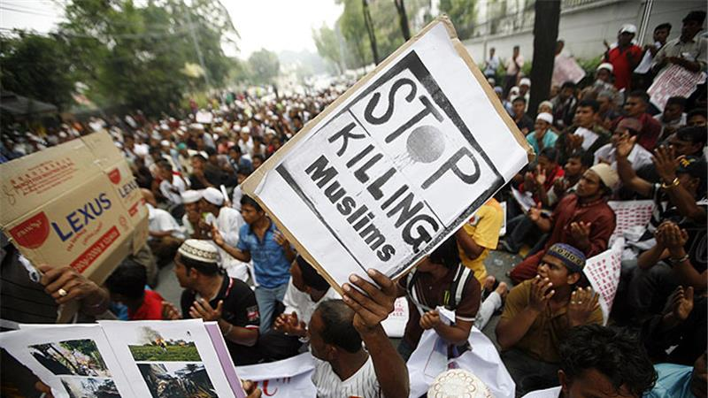 Myanmar Persenjatai Warga Sipil Non-Muslim di Rakhine
