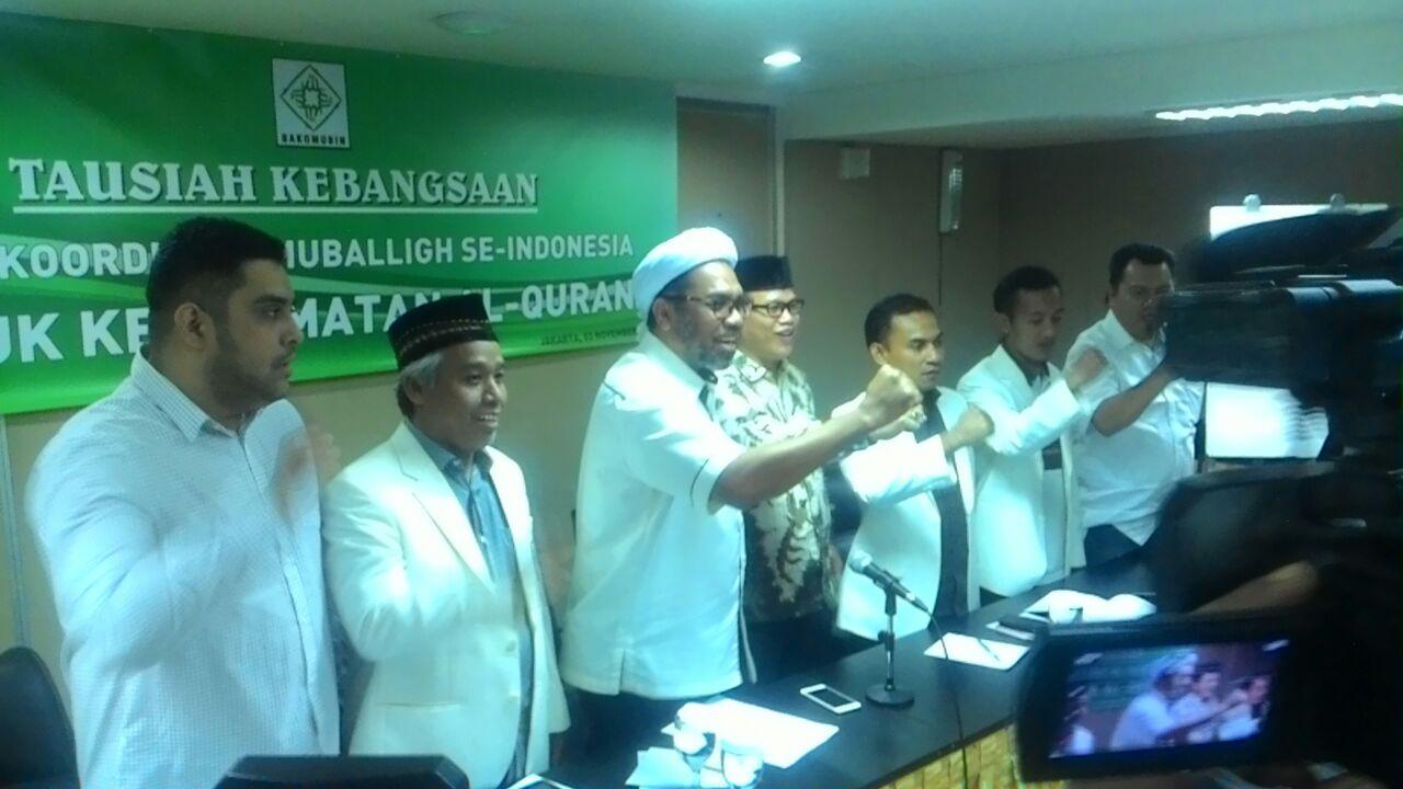 Bakomubin Harapkan Jokowi Dapat Selesaikan Kasus Penistaan Agama