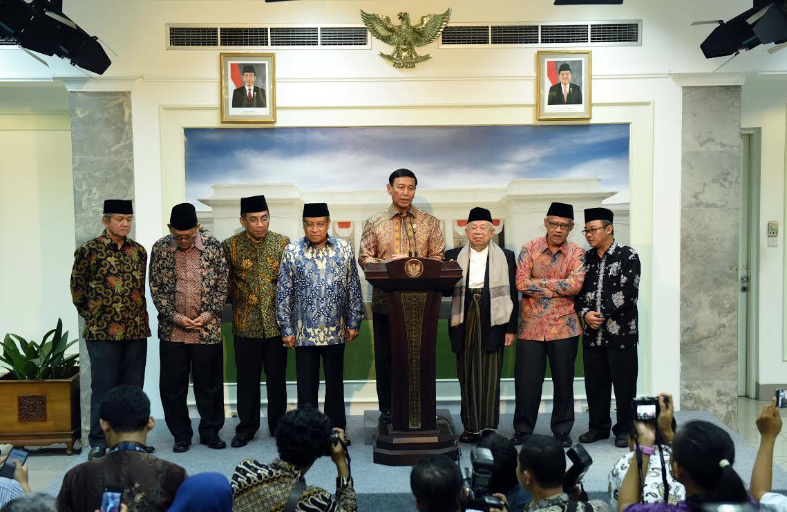 Wiranto: Kasus Penistaan Agama oleh Ahok Diproses Hukum