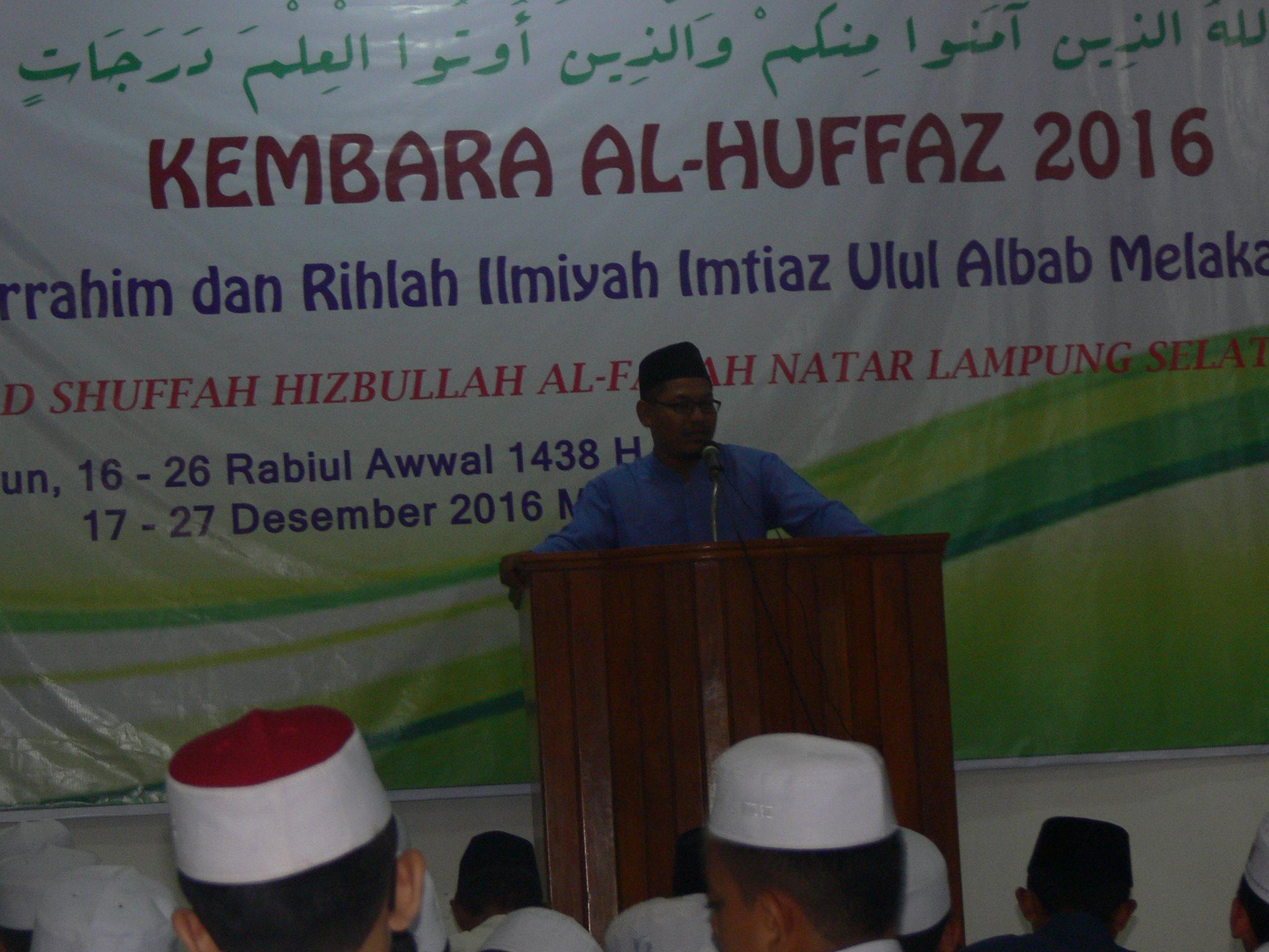 Sebanyak 61 Santri Imtiaz Malaka Silaturahmi ke Ponpes Al-Fatah Muhajirun