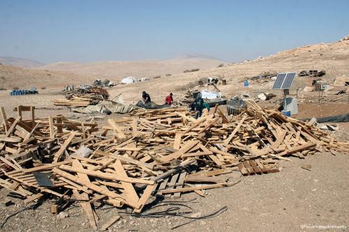 Israel Hancurkan Bangunan Milik Palestina di Jericho