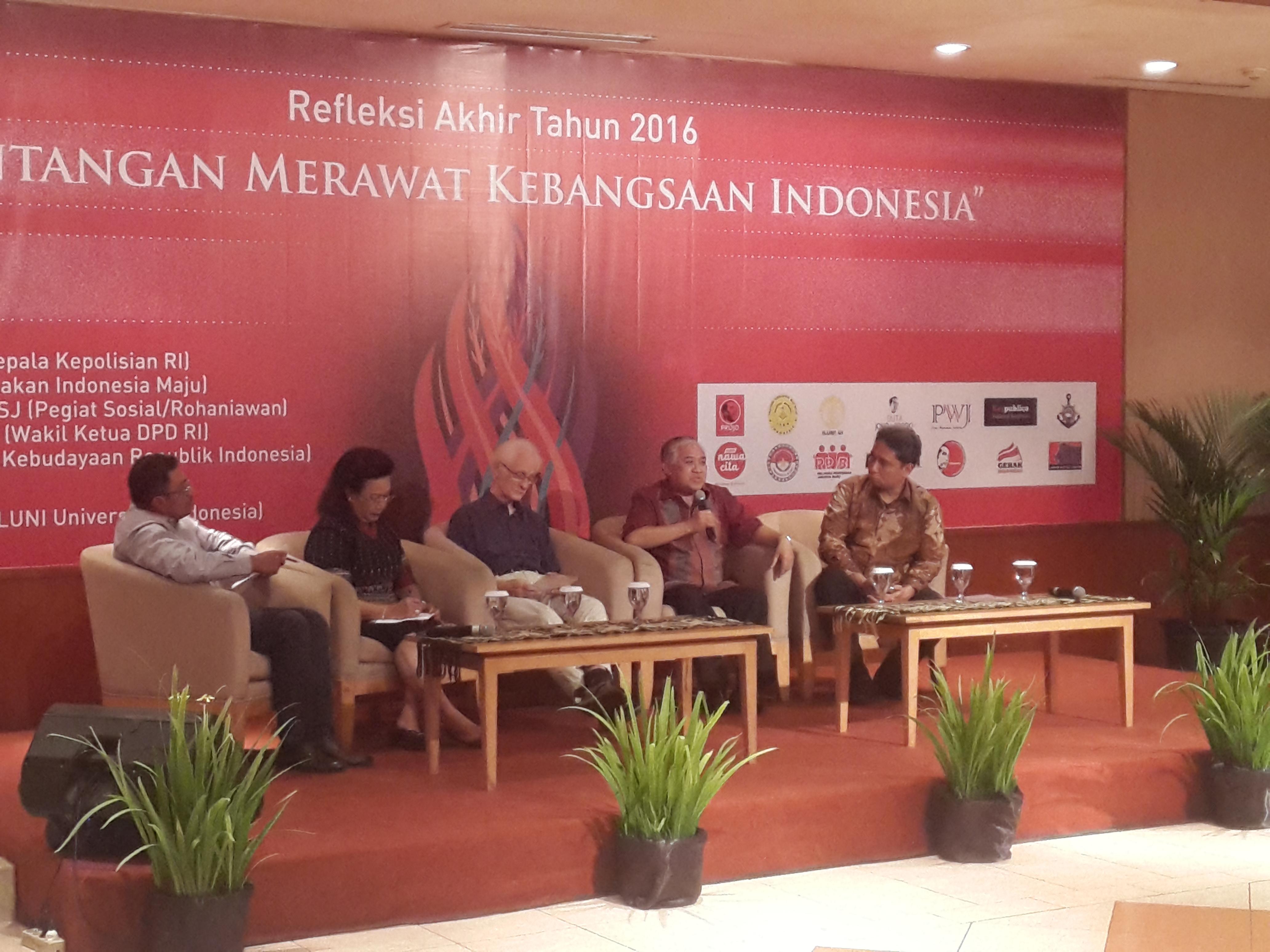 Din: Persatuan Indonesia Tetap Terjaga selama Islam Tegak