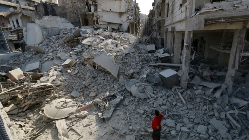 Pesawat Tempur Tak Dikenal Bunuh 22 Sipil di Deir Az-Zour Suriah