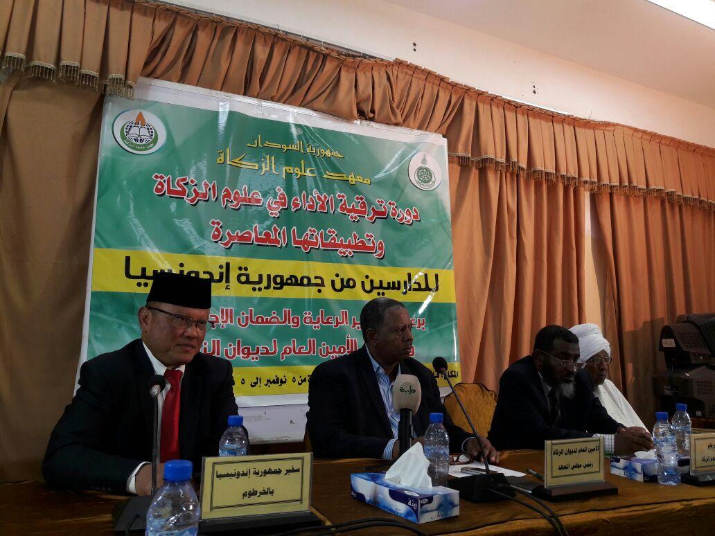 Dubes RI Beri Apresiasi Tinggi  Kepada Institut Ilmu Zakat Sudan
