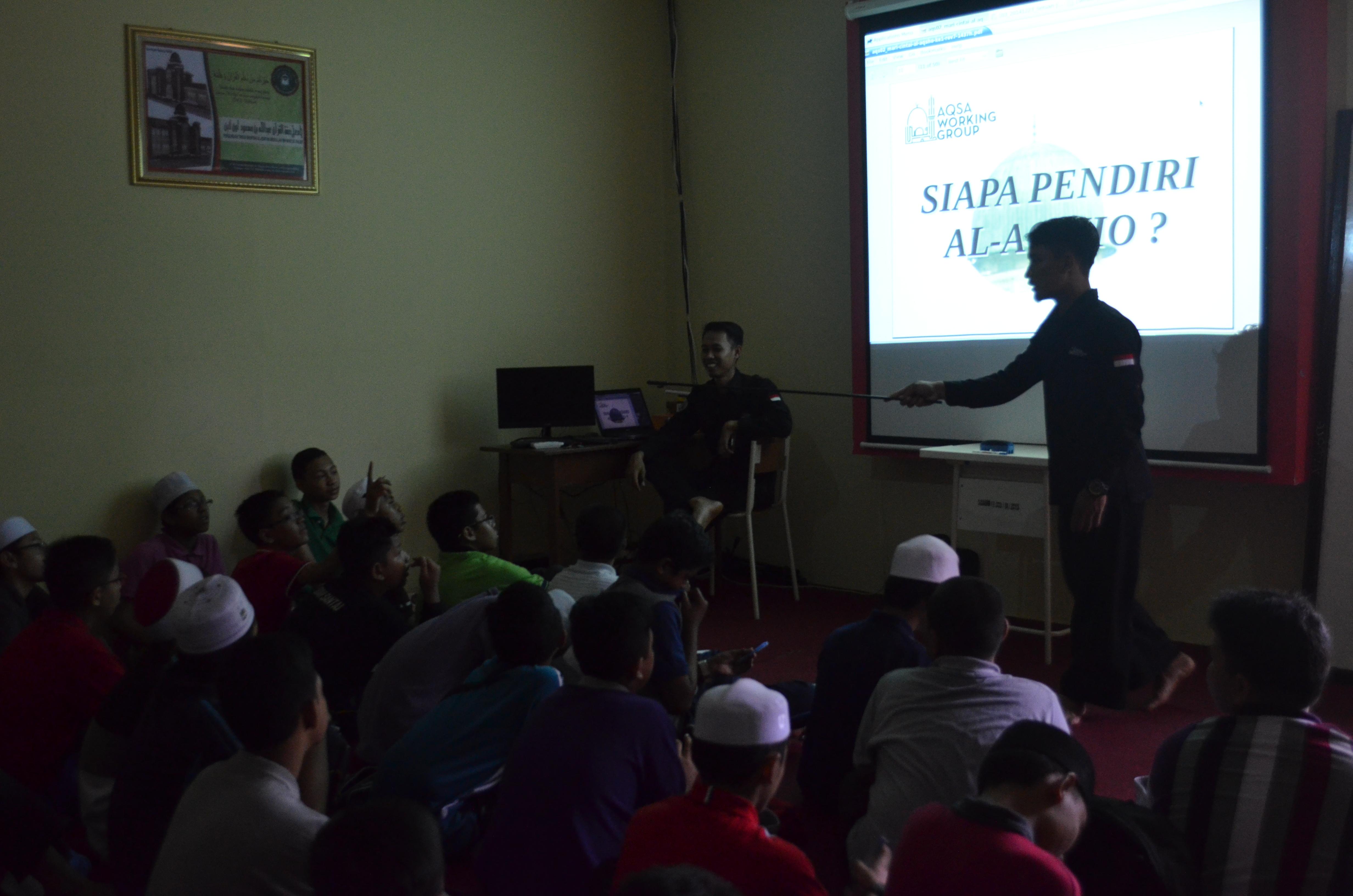 AWG Kenalkan Masjid Al-Aqsha Pada Santri Malaysia