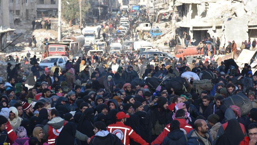 Evakuasi Aleppo Sudah 25.000 Orang