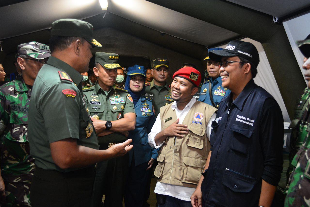 Panglima TNI Apresiasi Kinerja Tim Medis Muhammadiyah