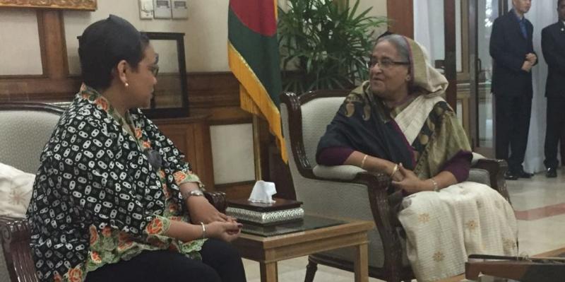 Menlu RI Harapkan Bangladesh dan Myanmar Kerjasama Tangani Pengungsi Rohingya