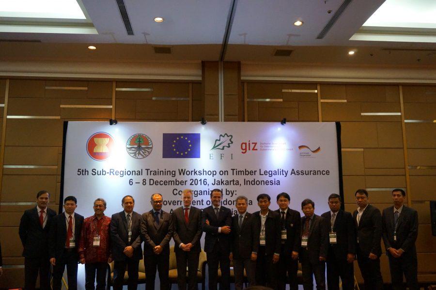 Uni Eropa dan Asean Berkumpul di Jakarta Bahas Legalitas Kayu