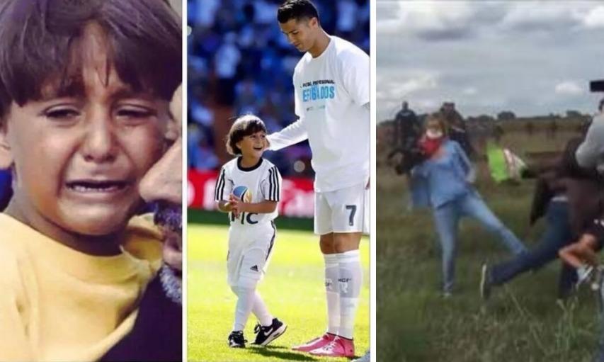 """Ronaldo Katakan Kepada Anak Suriah """"Kau Adalah Pahlawan Sejati"""""""
