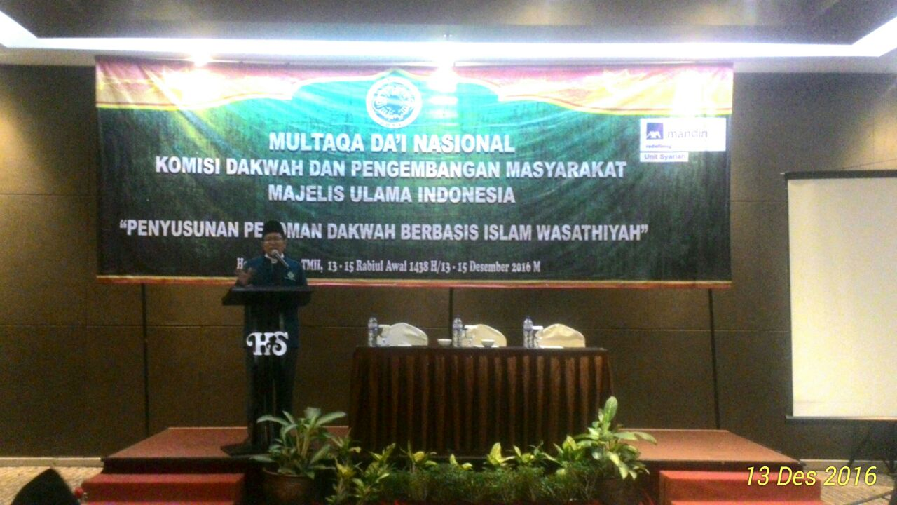 Komisi Dakwah MUI Gelar Multaqa Dai Nasional