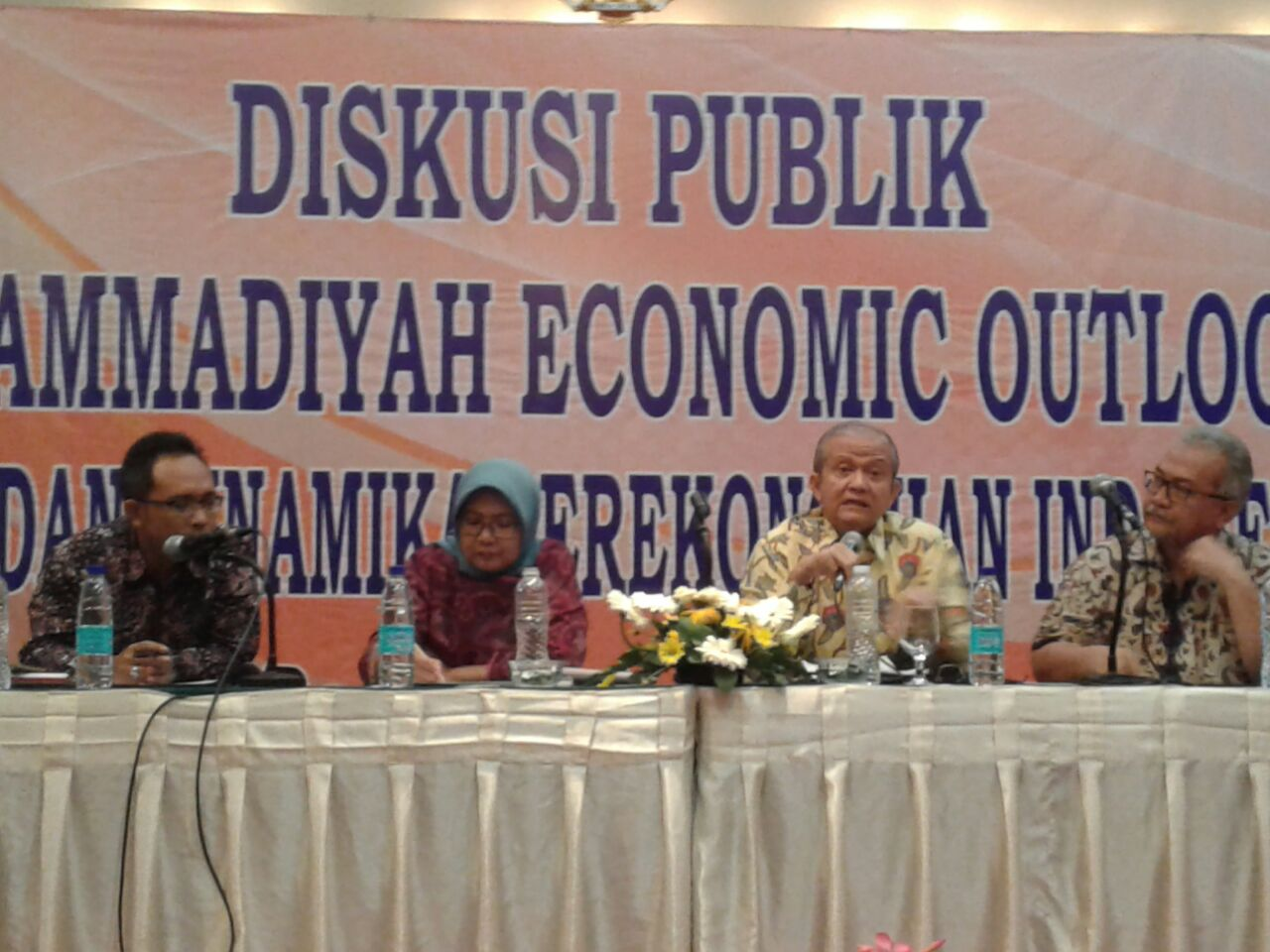 Muhammadiyah Gelar Diskusi Publik Economic Outlook