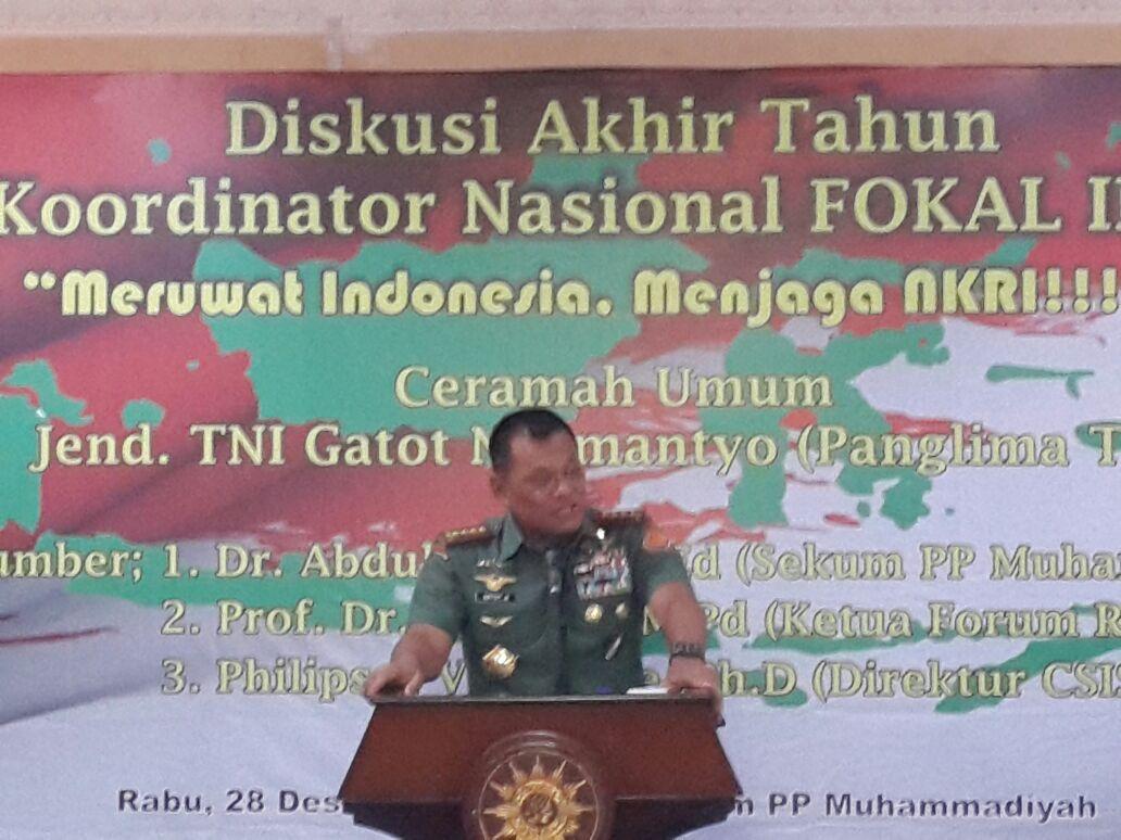 Panglima TNI: Tidak Ada Indonesia Jika Tidak Ada Islam