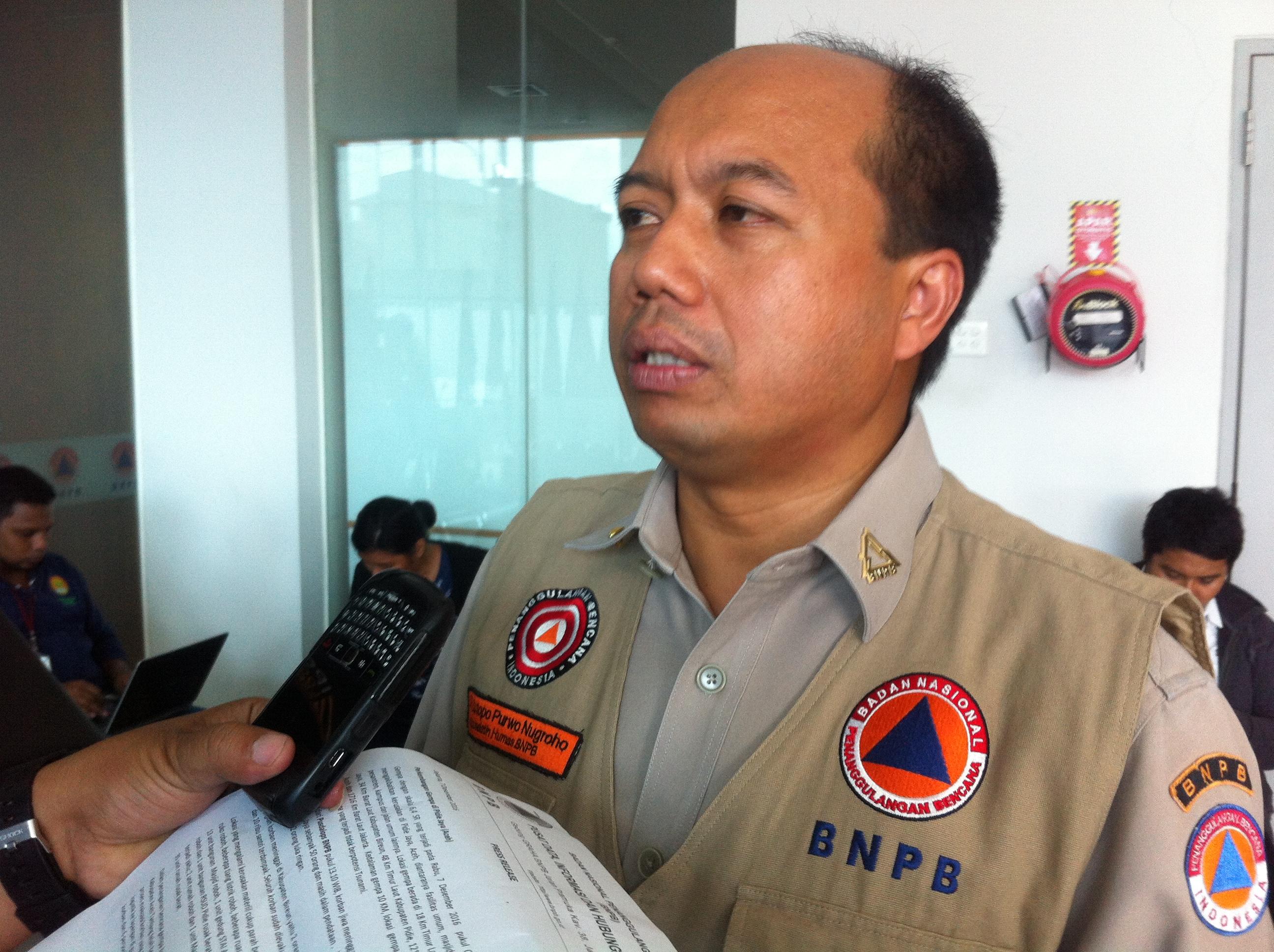 Dua Penyebab Tsunami di Palu Menurut BNPB