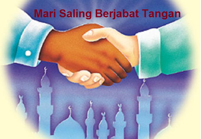 Mari Saling Berjabat Tangan