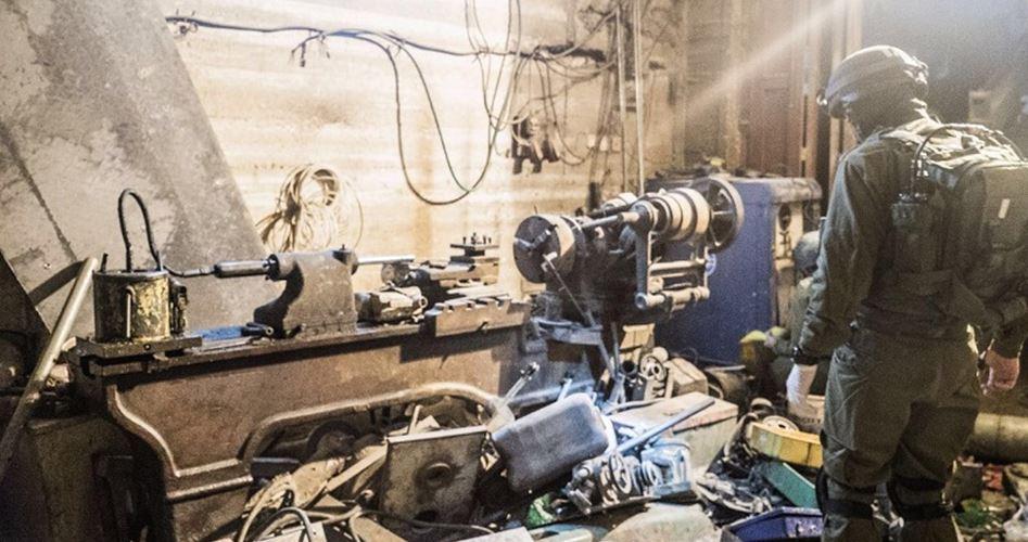 Israel Klaim Temukan Bengkel Pembuatan Senjata Terbesar di Hebron