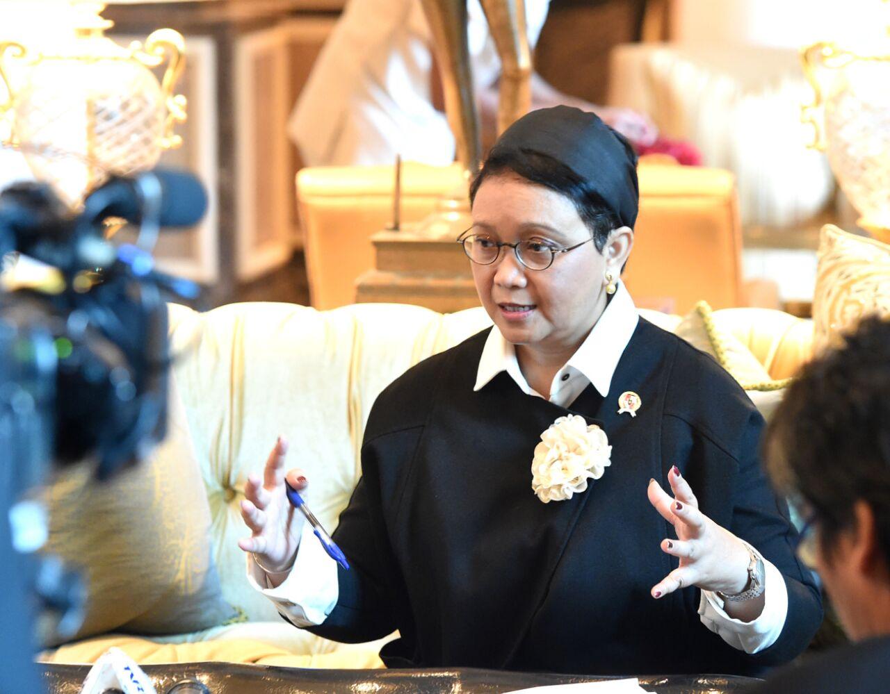 Kunjungan ke Mesir, Menlu Retno Akan Bertemu Imam Besar Al-Azhar