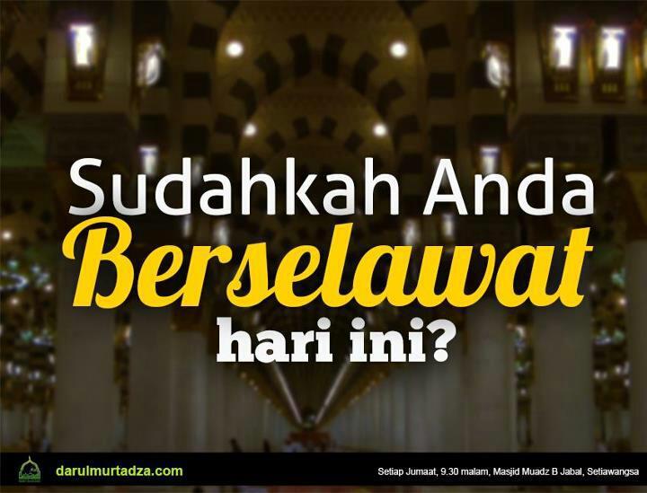 Titip Shalawat untuk Nabi SAW