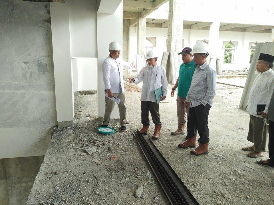 Progres Pembangunan Masjid An-Nubuwwah Capai Dua Pertiga