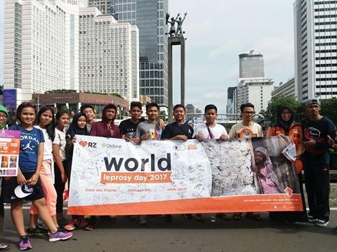 Cita Sehat Foundation dan Rumah Zakat Peringati Hari Kusta Sedunia
