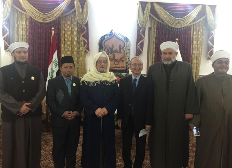 Indonesia-Irak Sepakat Tingkatkan Kerjasama Keagamaan