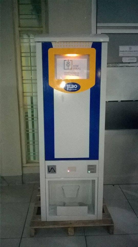 BAZNAS Kembangkan Inovasi Baru ATM Beras Untuk Rakyat Miskin